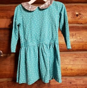 Pretty 3T, polka dot and sequined dress.